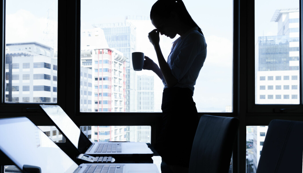 STRESS: Det kan være mange årsaker bak arbeidsrelatert stress. FOTO: NTB Scanpix