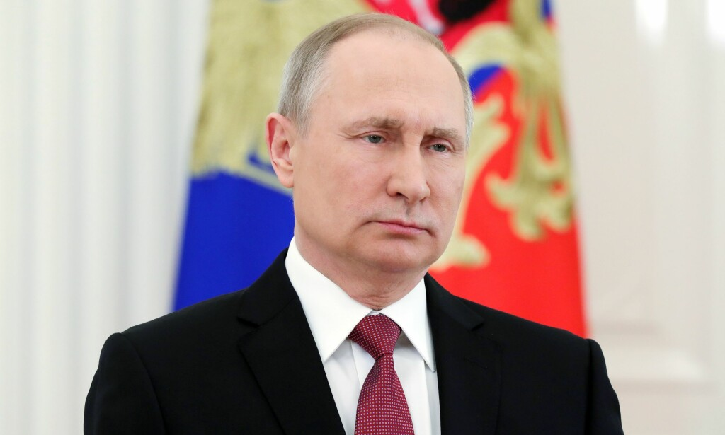 KRIMINELT: Russlands president, Vladimir Putin, kaller handlingene som førte til at minst 64 personer døde i brannen på kjøpesenteret i Russland for kriminell uaktsomhet. Foto: AFP / NTB Scanpix