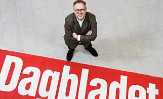 SJEFEN: Dagbladets sjefredaktør John Arne Markussen. Foto: Lars Eivind Bones