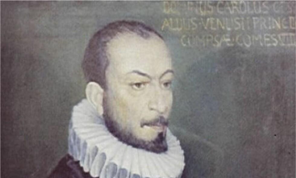 DRAPSMANN OG KOMPONIST: Den italienske komponisten Carlo Gesualdo (1566-1613) var prins av byen Venosa, og er kjent for sin originale og komplekse musikk. Men han er også kjent for å ha drept sin kone og hennes elsker. Som adelsmann ble han ikke fengslet for drapene, og i etterkant komponerte han noen enestående musikkverk. Foto: Wikimedia Commons