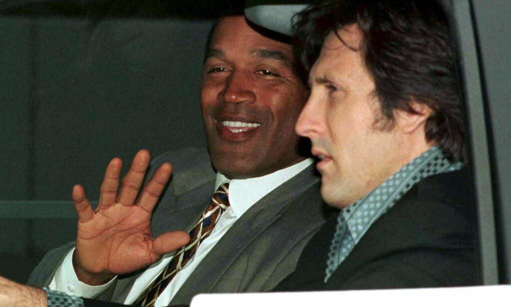 HEMMELIG: Bare tre personer visste når O.J. Simpson skulle transporteres fra Lovelock-fengselet. Her avbildet ved en tidligere anledning. Foto: NTB Scanpix