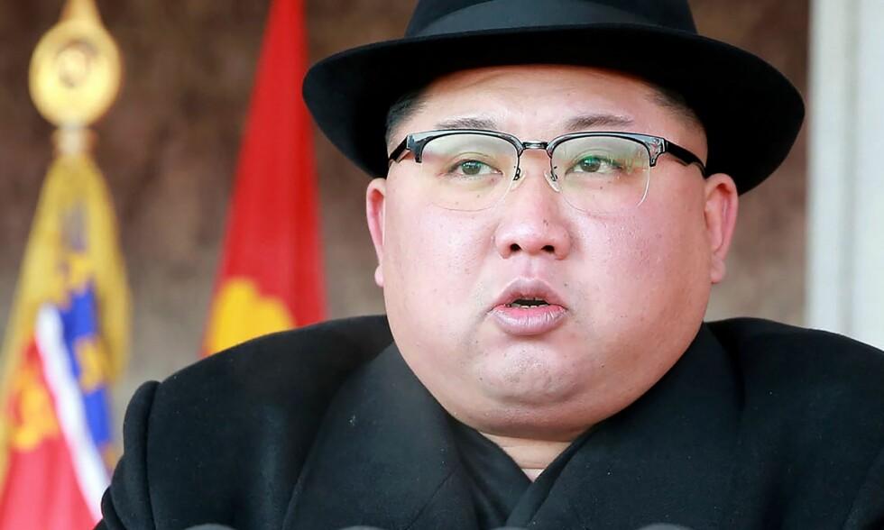 MØTER NABOEN: Nord-Koreas diktator Kim Jong-un og Sør-Koreas presiden Moon Jae-in skal møtes i slutten av april, ifølge sørkoreanske myndigheter. Foto: AFP / KCNA /SCANPIX