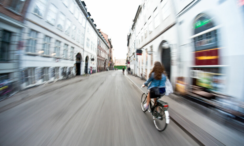 BESKJEDEN FORSKJELL: Syklister med lovlige elsykler beveger seg bare 2 kilometer i timen raskere enn tradisjonell tråsykkel, viser tysk undersøkelse. Foto: Michal Durinik/Shutterstock/NTB Scanpix