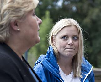 - SKREMSELPROPAGANDA: Leder av Høyres kvinneforum på nasjonalt nivå, stortingsrepresentant Tina Bru, har i kronikkform advart mot skremselspropaganda i debatten. Foto: NTB Scanpix
