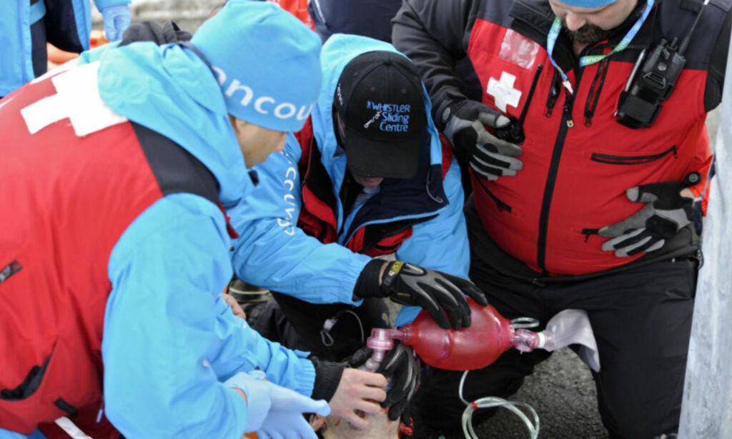 image: Døde i akeulykke i OL-anlegget