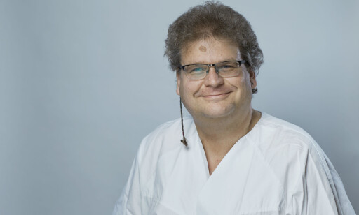 Klinikkoverlege: Frank Becker er overlege å Sunnaas sykehus. Foto: Bård Gudim / Sunnaas sykehus