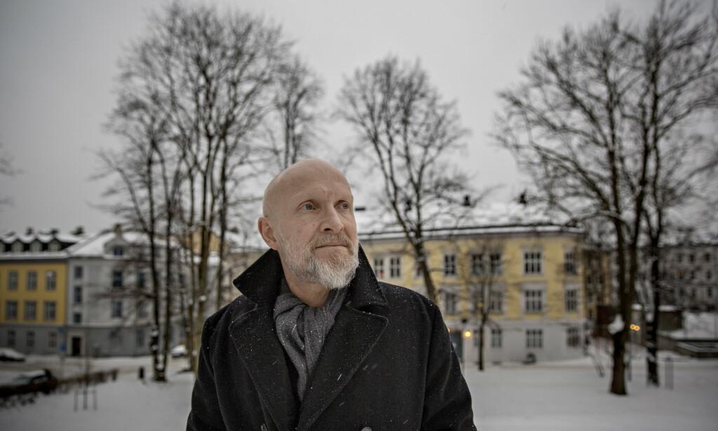 DIKT OM VIKAR: Lars Saabye Christensens nye diktsamling handler om trommeslageren som ble vikar i The Beatles. Foto: JØRN H. MOEN