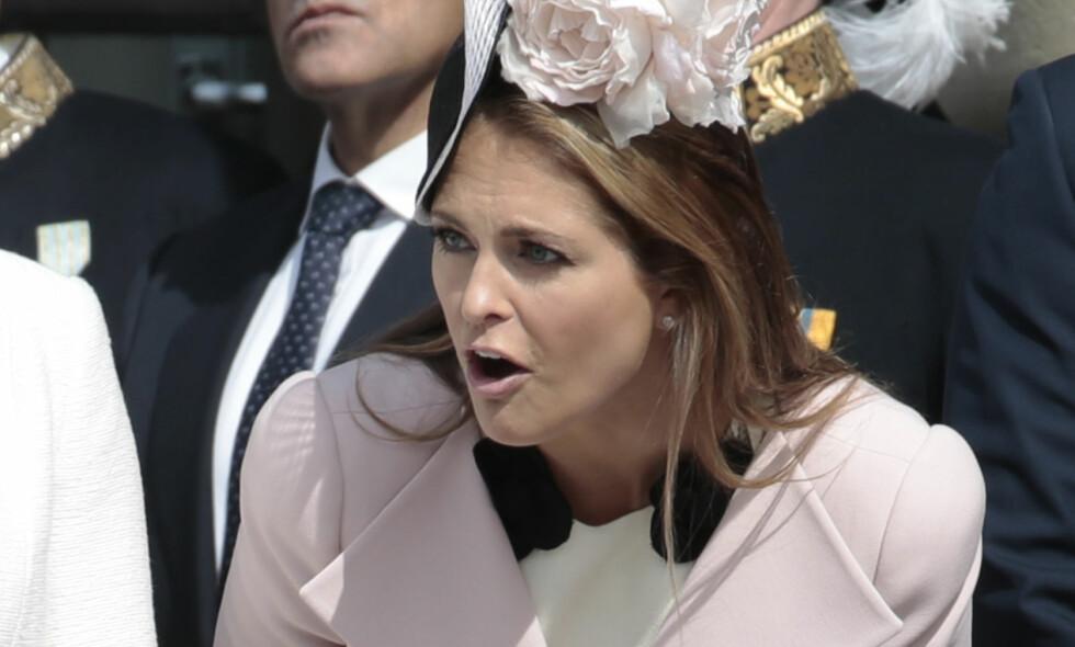 SKUFFA: Prinsesse Madeleine er skuffet over bestevenninnen etter at hun spurte Madeleines erkefiende om å være brudepike. Foto: NTB Scanpix.