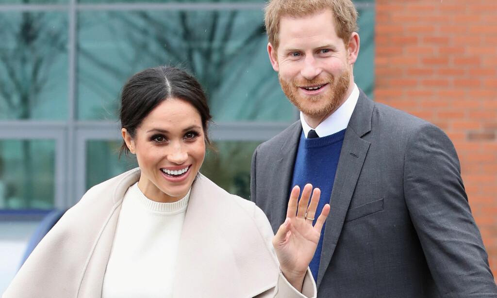 ETIKETTETRENING: Meghan Markle må sette seg inn i et helt nytt sett med regler før bryllupet. For med en gang hun giftes inn i det britiske kongehuset, vil hun bli nøye fulgt med på. Foto: NTB scanpix