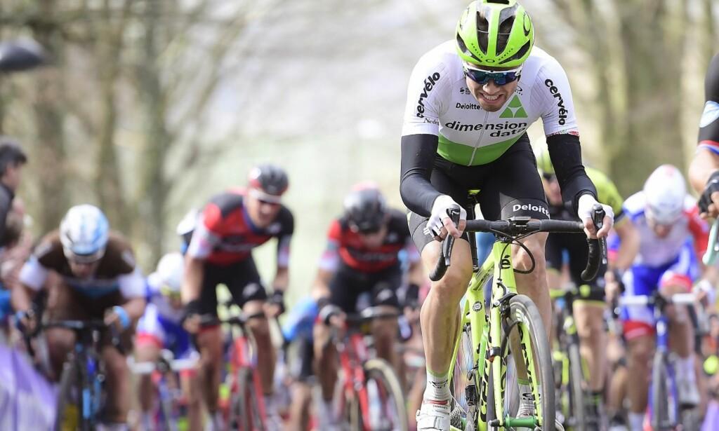 I FORM: Edvald Boasson Hagen viste god form i Dwars door Vlaanderen. Foto: Tim De Waele.