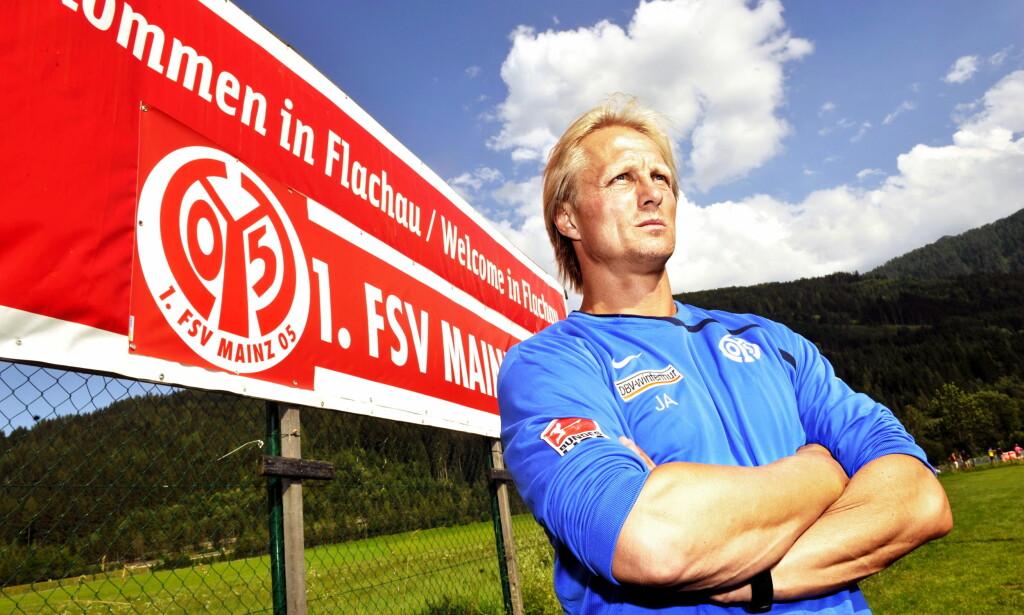 AKTUELL FOR NYTT LAG: Jørn Andersen. Her fra tida i tysk fotball. Foto: Erik Berglund / Dagbladet
