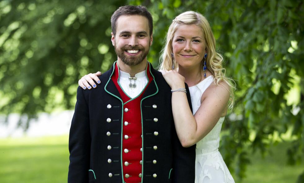 FIKK BARN: Vebjørn Tveiterås og Annabelle Bauer er blitt foreldre til en liten jente. Foto: TVNorge