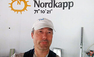 image: Kjørte 2 300 km til jobb - nå er Tom (53) isolert på Nordkapp på sjette døgnet