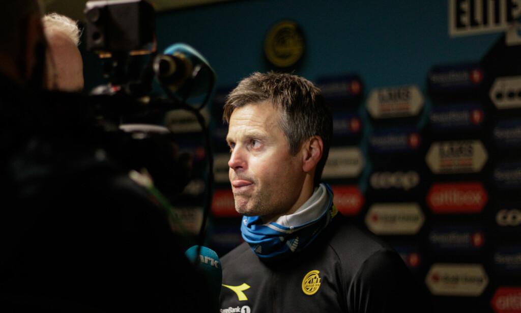 BLAR OPP: Danske BT mener å vite at Bodø/Glimt og trener Kjetil Knutsen blar opp for Philip Zickernagel. Foto: Mats Torbergsen / NTB scanpix