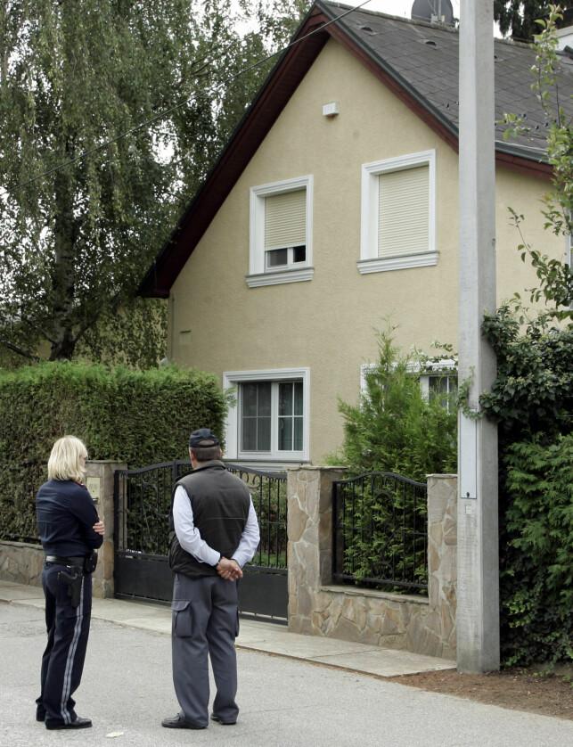 KJØPTE HUSET: Wolfgang Priklopils hus hadde vært i familiens eie i generasjoner. Nå er det Kampusch som står som eier av boligen. Foto: NTB Scanpix
