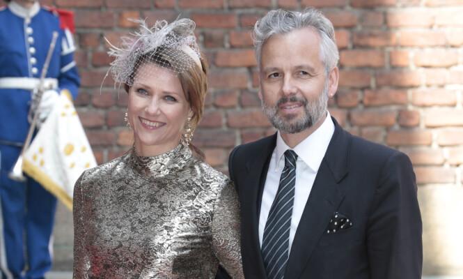 LYKKEN BRAST: Prinsesse Märtha Louise og Ari Behn gikk hvert til sitt august 2016. Her er de to avbildet i Stockholm tidligere samme år, en av de siste gangene i offentlig sammenheng som ektepar. Foto: NTB Scanpix