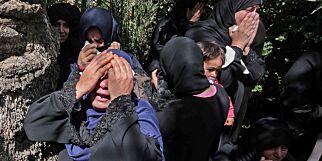 image: Sørgedag i Gaza etter at 16 er drept
