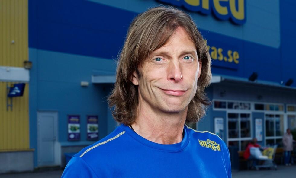 POPULÆR: Ola-Conny Wallgren er for lengst blitt sin egen arbeidsplass' ansikt utad, og er en tydelig skikkelse i kjøpesenterets realityserie. Av og til kan det riktignok bli for mye av det gode. Foto: Kanal 5