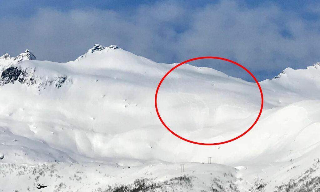image: Seks utenlandske skiløpere sier de utløste storskred i Lofoten