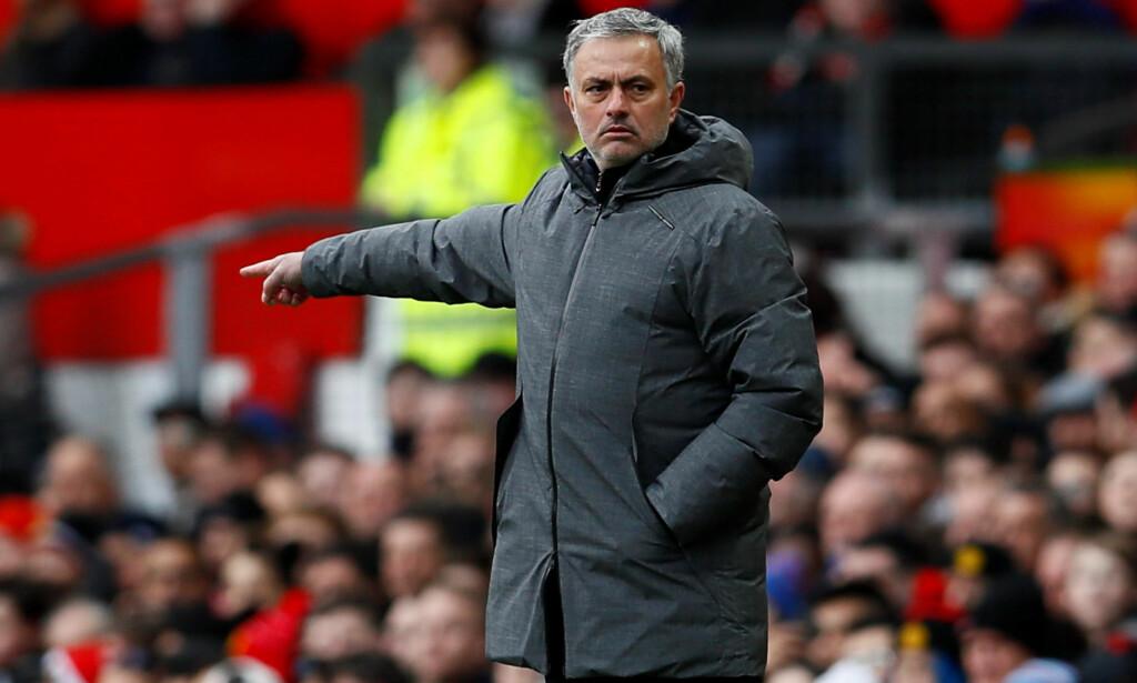 TRE POENG: José Mourinho og Manchester United slo Swansea på Old Trafford lørdag ettermiddag. Foto: NTB Scanpix
