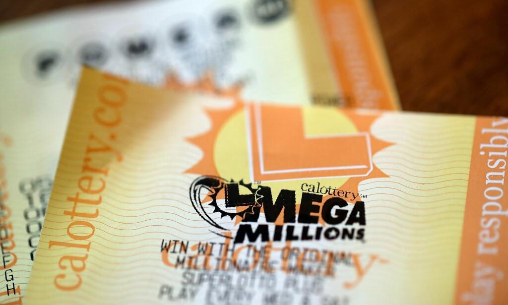INNBRINGENDE: Lotteriet Mega Millions er svært innbringende for den ukjente vinneren. Foto: Justin Sullivan / Getty / AFP / NTB Scanpix