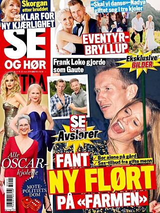 FORSIDESTOFF: Faksimile av Se og Hør 16. mars.