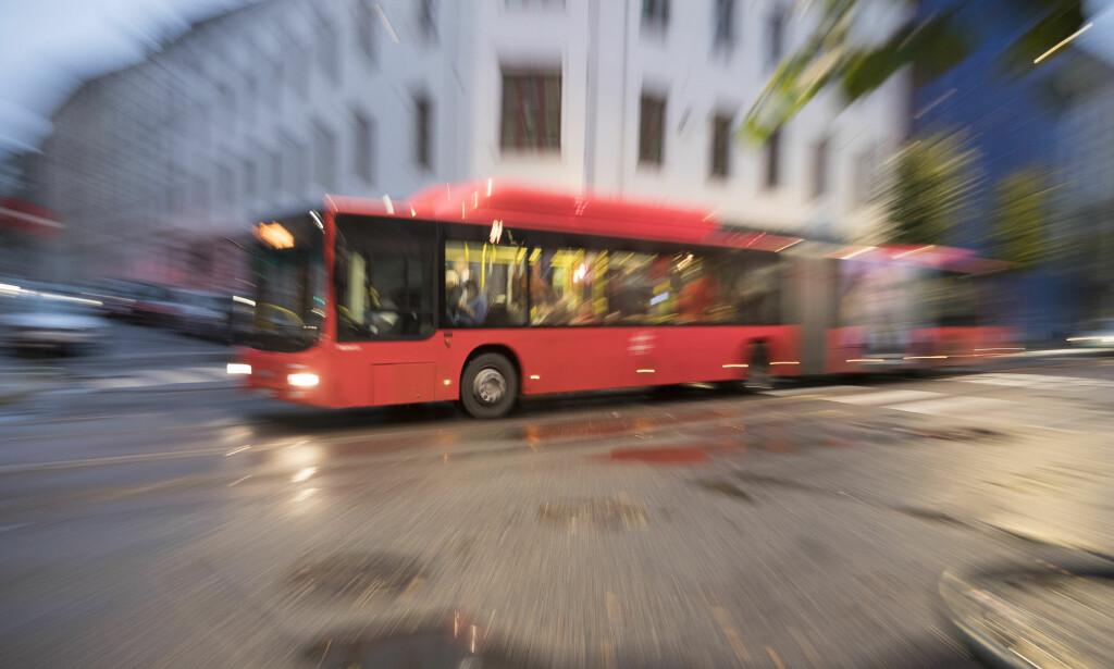 STREIK: Busstrafikken over hele landet kan bli rammet dersom det blir streik til helga. Illustrasjonsfoto: Terje Pedersen / NTB scanpix