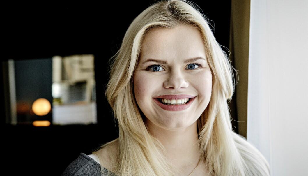 <strong>ÅPENHET:</strong> Julianne Nygård har markert seg som en av landets mest åpne bloggere, og deler stort sett alt med fansen. Om det endrer seg når lille Severin kommer til verden, er hun usikker på. Foto: Nina Hansen / Dagbladet