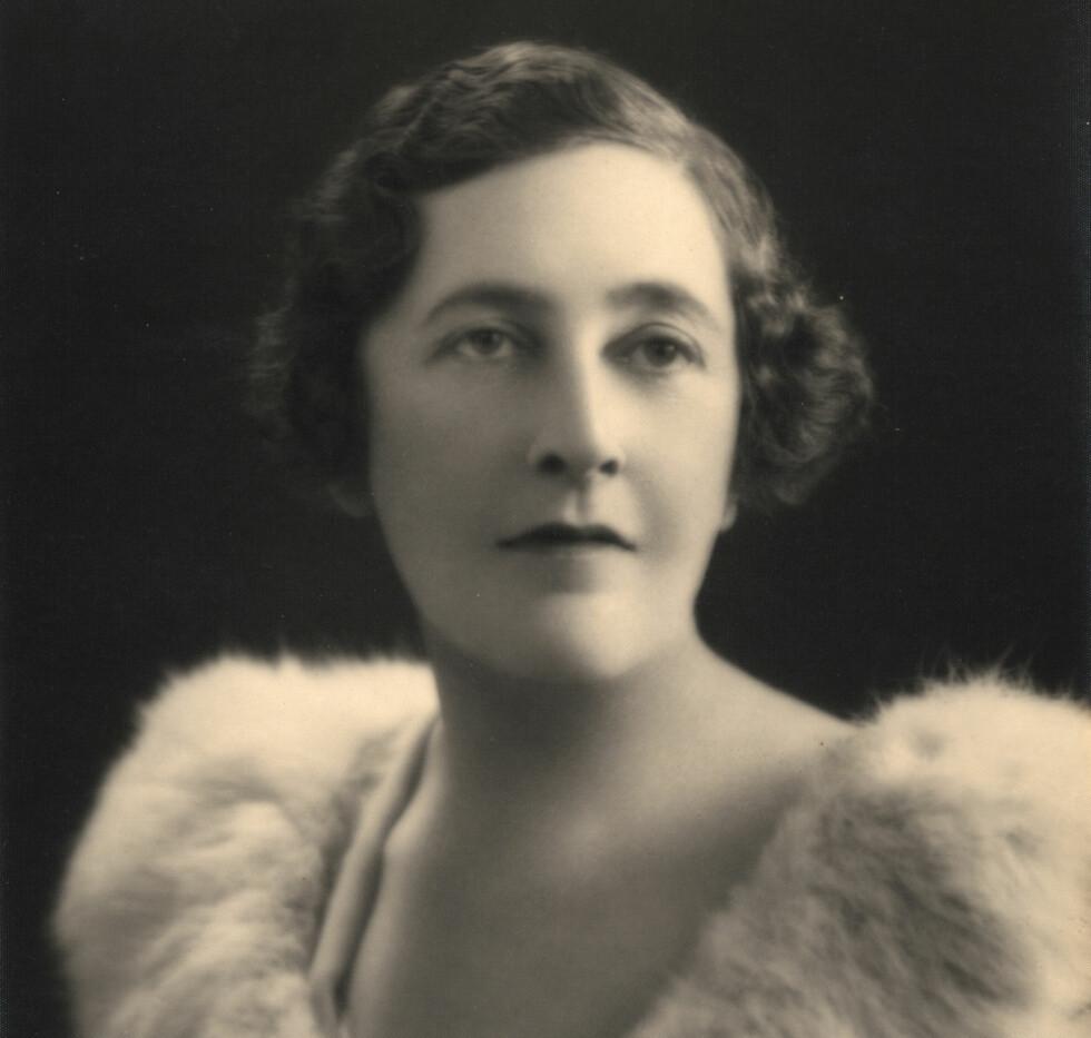 ULYKKELIG: Den unge Agatha Christie hadde mange grunner til å være ulykkelig da hun forlot hjemmet sitt i desember 1926.