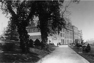 HARROGATE: Old Swan Hotel i Harrogate, der Agatha Christie oppholdt seg da hun ble sporet opp.
