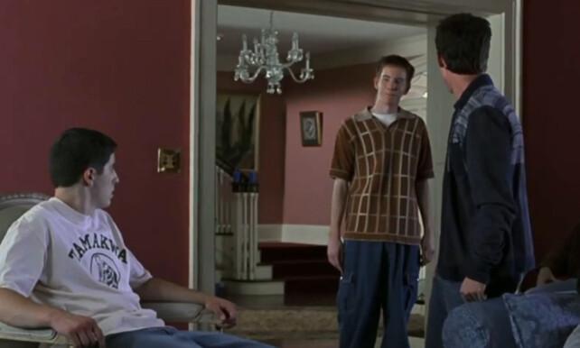 KULTFILM: Owen (i midten) spilte rollen som den legendariske «The Sherminator» i den populære filmserien. Etter komediesuksessen forsvant tilbudene. Foto: NTB Scanpix