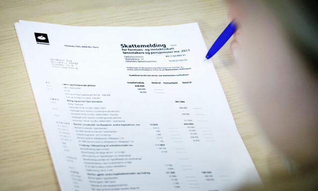 sjekk skattemelding