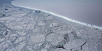 image: Is på størrelse med London har forsvunnet på fem år
