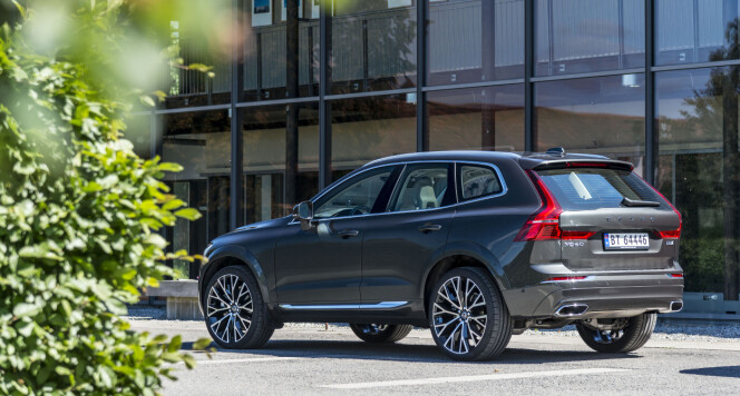 <strong>ÅRETS BIL:</strong> Volvo XC60. Foto: Jamieson Pothecary