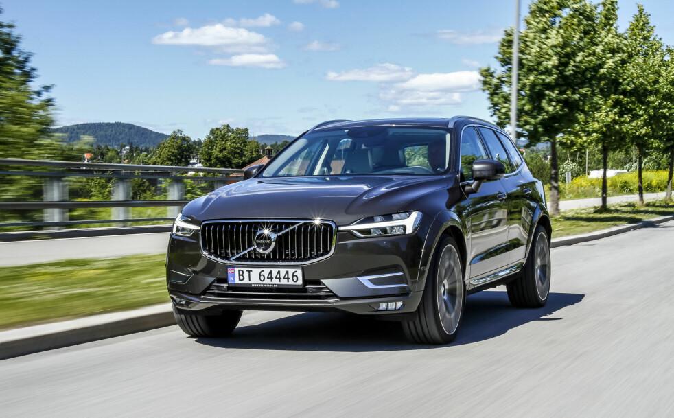 <strong>VERDENSDOMINANS:</strong> For én måned siden vant Volvo XC40 tittelen Årets bil i Europa. Nå har Volvo XC60 (bildet) gått til topps i kåringen Årets bil i verden. Foto: Fred Magne Skillebæk