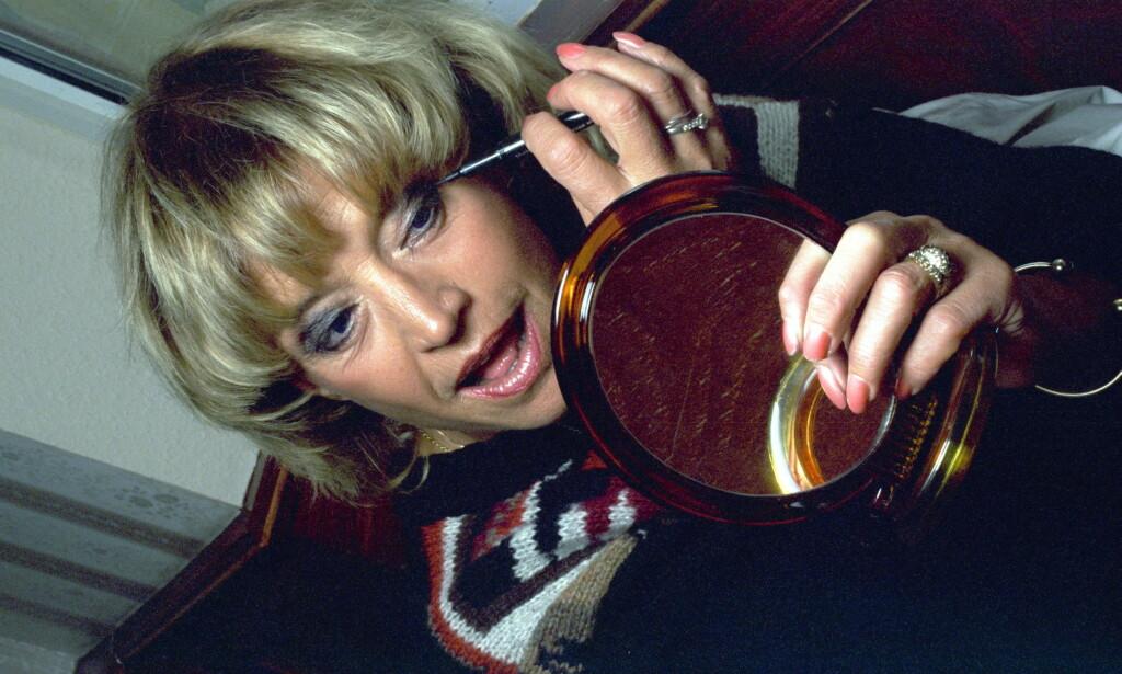 1997: Lill-Babs avbildet i forbindelse med en konsert. Foto: Dagbladet