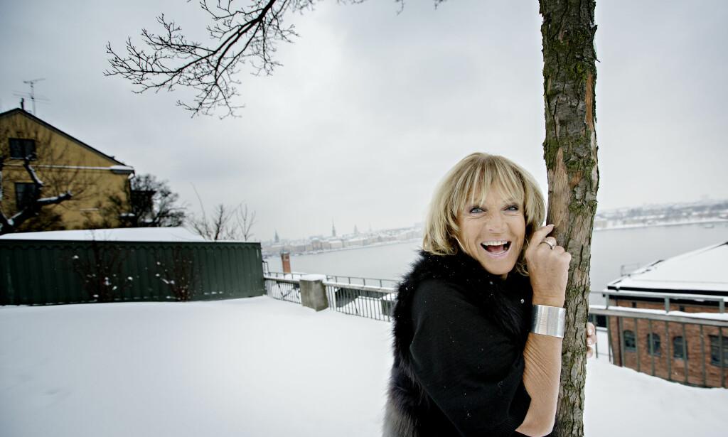 2013: Dagbladet møter Lill-Babs i Stockholm. Foto: Anita Arntzen / Dagbladet