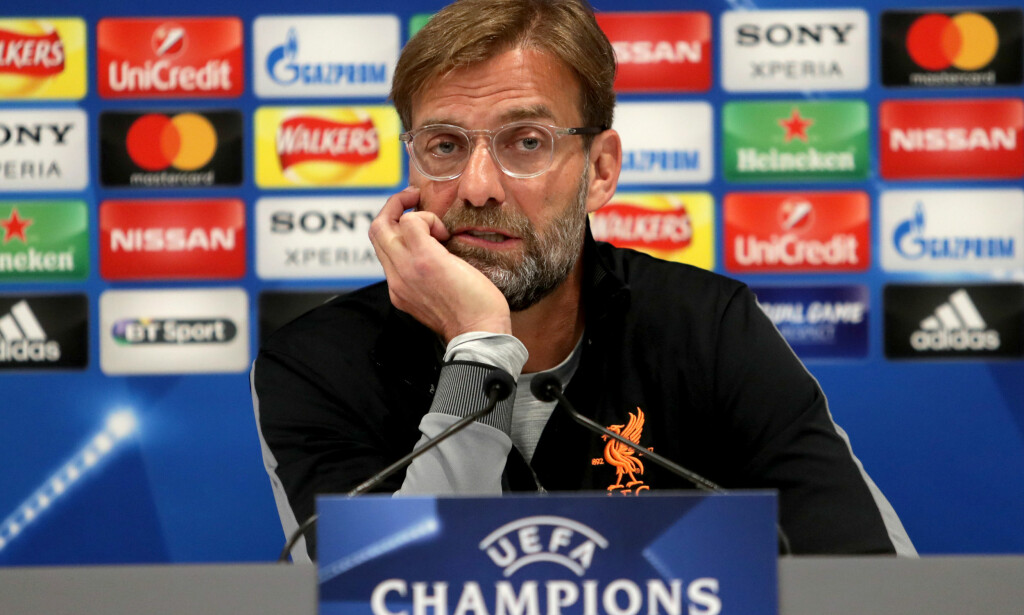 DÅRLIG NYHET: Liverpool-manager Jürgen Klopp må klare seg uten Joël Matip resten av sesongen. Foto: Richard Sellers/PA Wire/NTB Scanpix