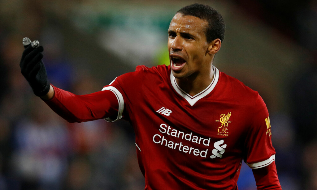 SKADET: Liverpool-stopper Joël Matip. Foto: Phil Noble/Reuters/NTB Scanpix