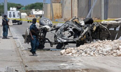 image: Norsk Folkehjelp i Mogadishu rammet etter selvmordangrep
