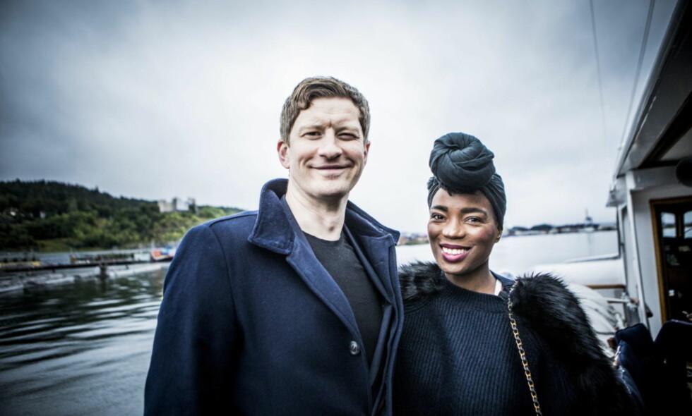 FIKK EN DATTER: Komiker Odd-Magnus Williamson og kona Tinashe bekrefter at de er blitt foreldre. Foto: Christian Roth Christensen / Dagbladet