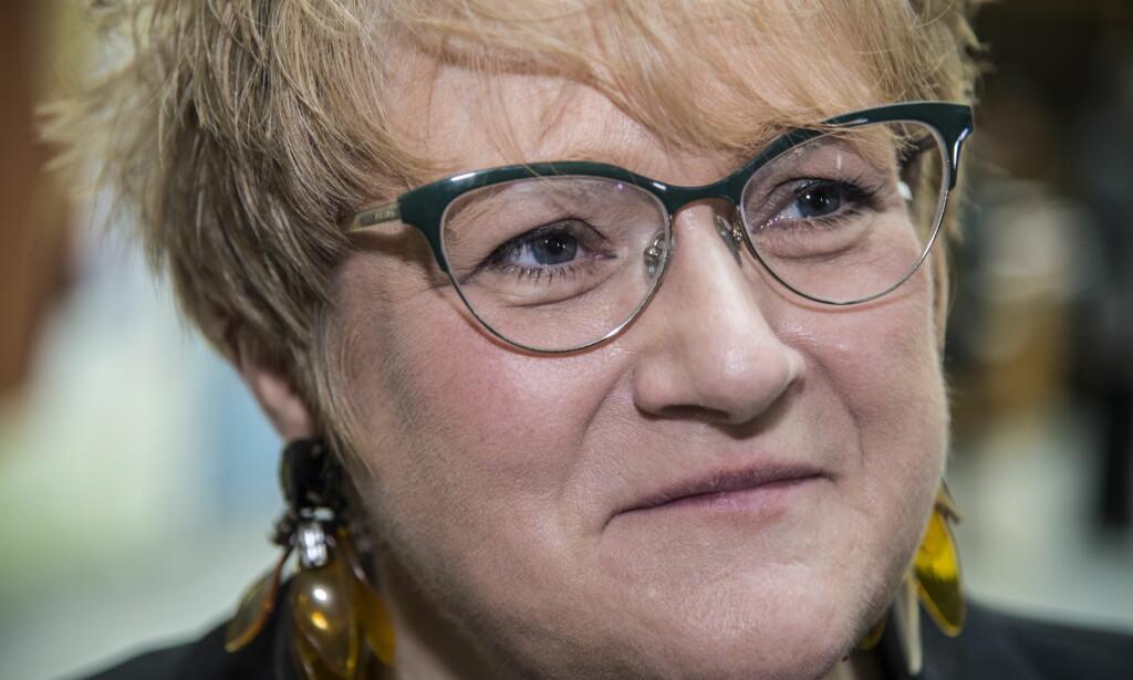 KULTURMINISTER: Trine Skei Grande (V) samler Stortinget for å prate om mediestøtte. Foto: Hans Arne Vedlog / Dagbladet