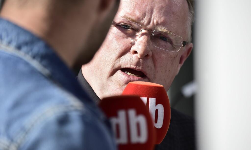 OPPGJØRETS TIME: Per Sandberg takket nei til stillingen som justisminister. Nå raser han mot personangrep i politikken. Foto: Lars Eivind Bones / Dagbladet