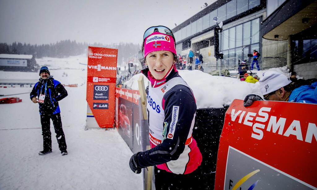 FORVIRRING: Jelena Välbe hevder å vite at Marit Bjørgens karriere avsluttes denne helga. Bjørgens trener Roar Hjelmeset aner ikke hvor hun har det fra. Foto: Bjørn Langsem / Dagbladet