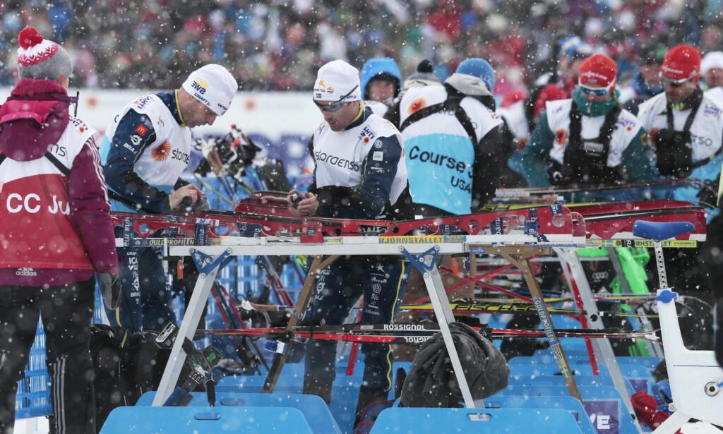 VOKSEN JOBB: Eliteprepp av ski skal ikke ha noe å gjøre med de sekundene som står på spill i renn for yngre. Over tid ødeleggerden forbindelsen selve sporten. FOTO: Lise Åserud / NTB scanpix