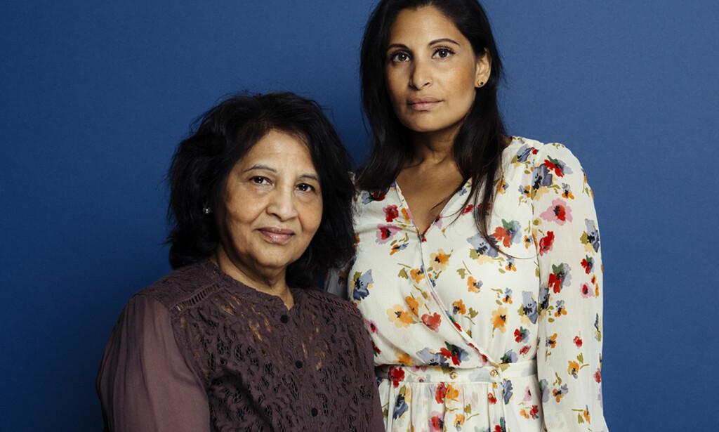 MOR OG DATTER: Azra Gilani (t.v.) og datteren Maria Gilani har sammen skrevet boka om førstnevntes liv i Norge. Foto: VIGMOSTAD OG BJØRKE