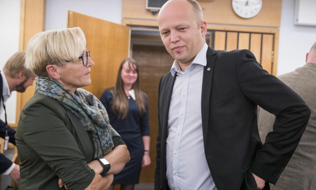 image: Raser mot Erna Solberg etter Nato-intervju: - Lite hederlig av Erna