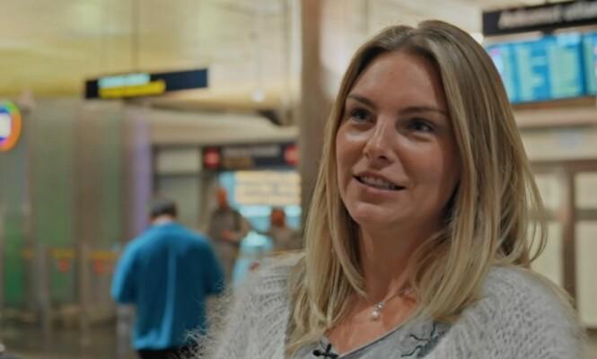 <strong>ER SEG SELV:</strong> Anna kjenner seg selv igjen i kveldens episode når hun møter Geir på flyplassen. Foto: TVNorge