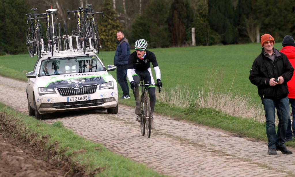 DEBUTANT: På søndag skal Sindre Lunke (24) sykle Paris-Roubaix for første gang. Foto: Jarle Fredagsvik/procycling.no
