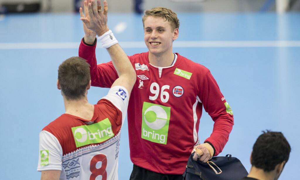 HERJET: Kristian Sæverås. Foto: Vidar Ruud / NTB scanpix
